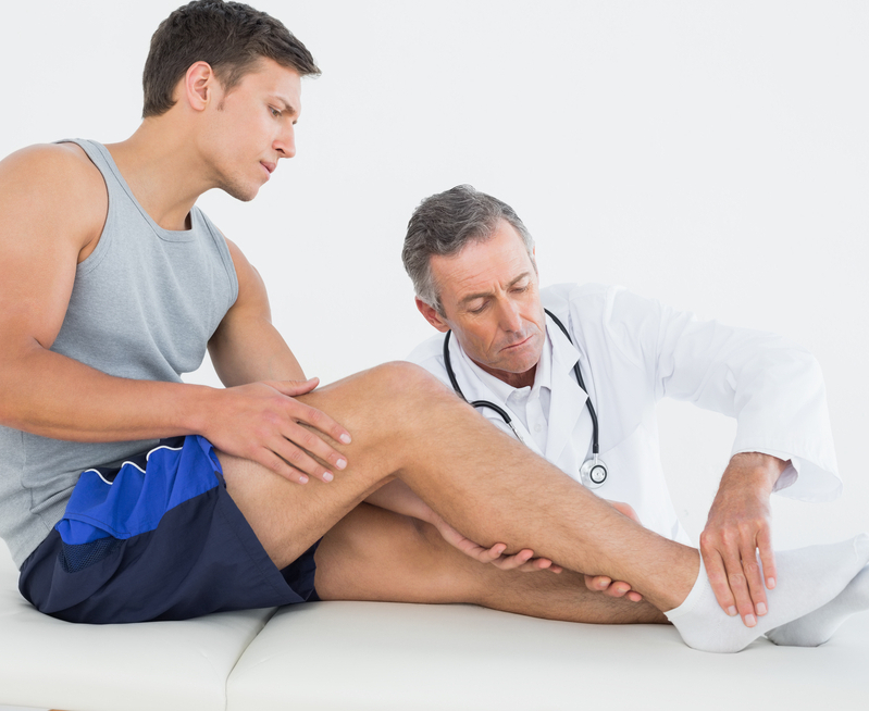 Get rid of the knee and leg pain
